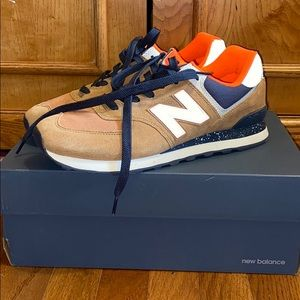 Classic Tan, Navy And Orange New Balance